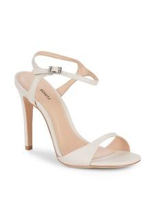 SCHUTZ Leather Stiletto Sandals