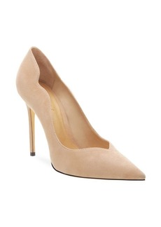SCHUTZ Monaliza Suede Point Toe Pumps