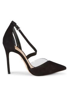 SCHUTZ Nissy Suede d'Orsay Stilettos