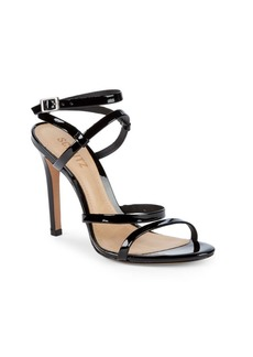 SCHUTZ Patent Leather Stiletto Sandals