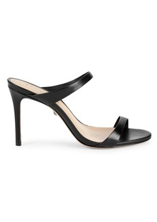 SCHUTZ Reanna Stiletto Leather Sandals