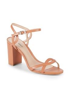 SCHUTZ Scarlett Leather Ankle-Strap Sandals