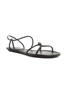 Schutz Aimi Strappy Flat Sandal (Women)