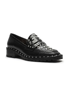 Schutz Allyson Studded Penny Loafer (Women)