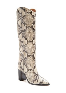 Schutz Analeah Pointed Toe Knee High Boot (Women)