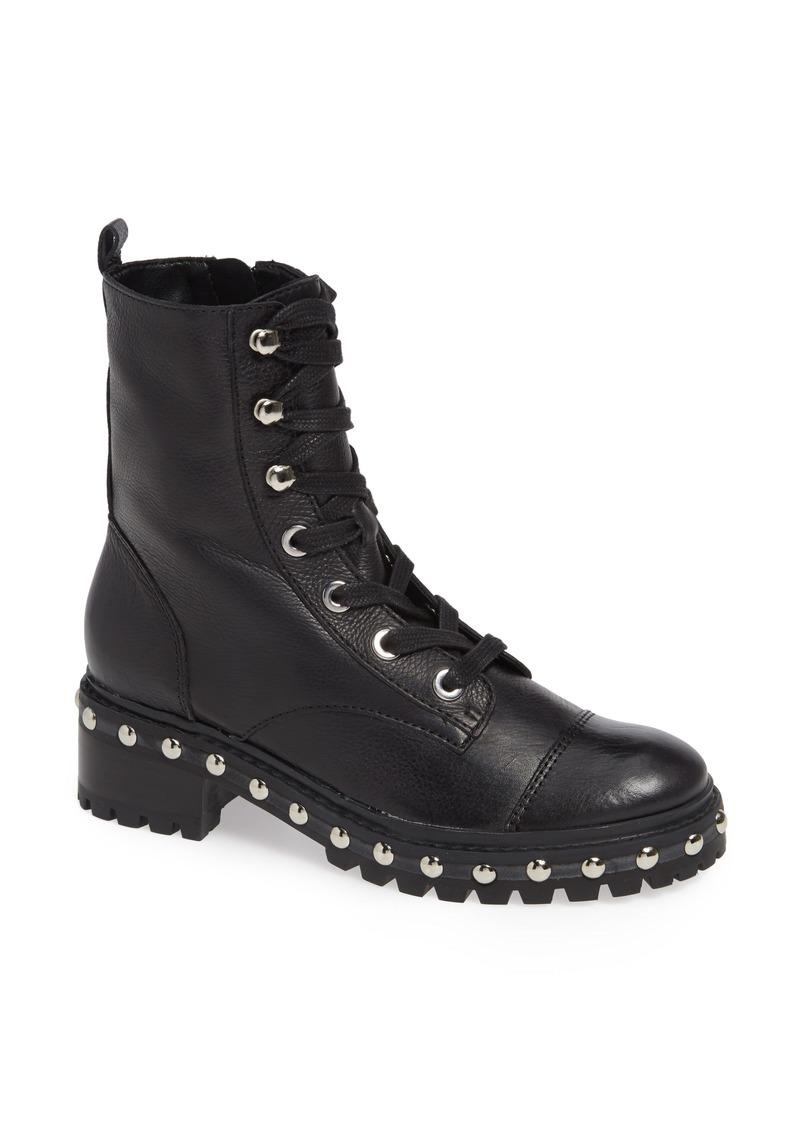 Schutz Andrea Studded Combat Boot (Women)