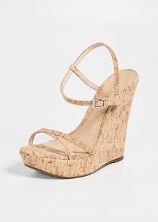 Schutz Auria Wedge Sandals