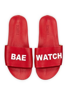 Schutz Bae Watch Pool Slide Sandals