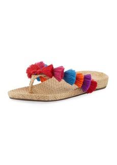Schutz Barcelona Tassel Thong Sandal