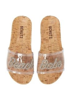 Schutz Beach Babe Slide Sandal (Women)