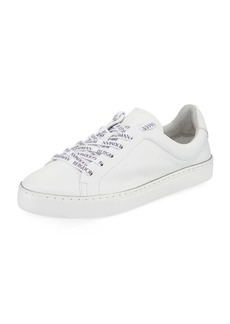 Schutz BG Laces Leather Sneakers