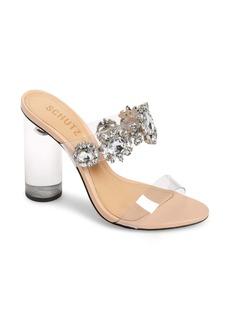 Schutz Blanck Clear Slide Sandal (Women)