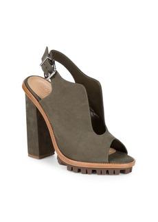 Schutz Brunel Ankle-Strap Sandals