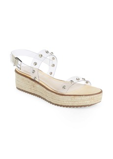 Schutz Cristiane Embellished Platform Sandal (Women)