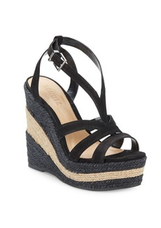 Schutz Daenerys Strappy Wedge Platform Sandals