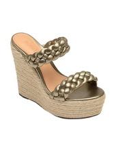 Schutz Dyandre Platform Wedge Slide Sandal (Women)