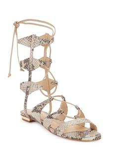 Schutz Erlina Leather Gladiator Sandals
