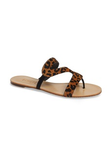 Schutz Erzeli Genuine Calf Hair Slide Sandal (Women)