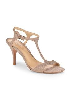 SCHUTZ Florine Sparkle Ankle-Strap Heels