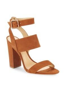 SCHUTZ Franzen Block-Heel Leather Sandals
