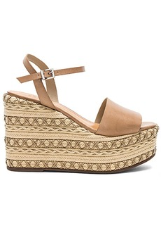 Schutz Galaze Wedge in Taupe. - size 10 (also in 6,6.5,7,7.5,8,8.5,9,9.5)