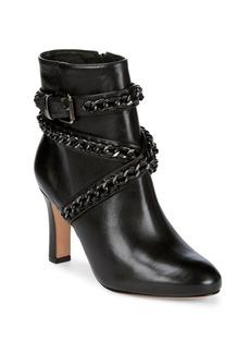 SCHUTZ Izzy Ankle Chain Boots