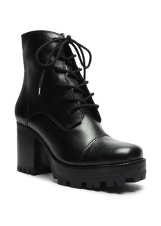 Schutz Jeannie Lace-Up Platform Boot (Women)