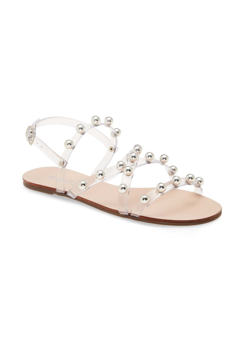 Schutz Lina Clear Strappy Sandal (Women)