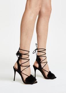 Schutz Lori Lace Up Sandals