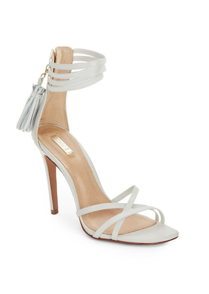 dffb44ffd SCHUTZ Schutz Malu Leather Ankle Cuff Sandals