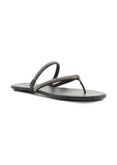 Schutz Marileide Rhinestone Strap Sandal (Women)