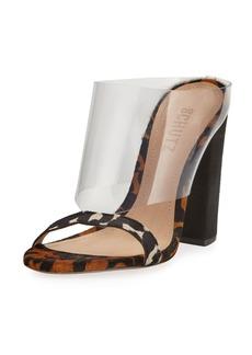 Schutz Marjore Leopard -Print High Sandals