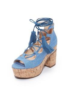 Schutz Minilia Platform Sandals