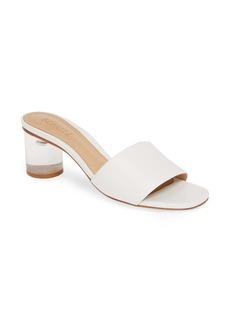 Schutz Mirlande Clear Heel Slide Sandal (Women)