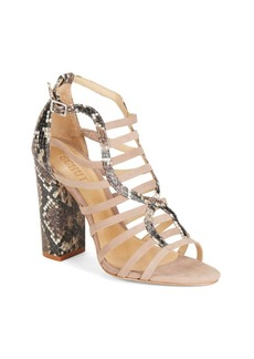 Schutz Kaye Open Toe Ankle Strap Sandals