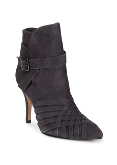 SCHUTZ Port Suede Booties