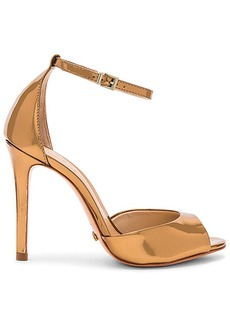 Schutz Saasha Lee Heel in Metallic Bronze. - size 10 (also in 6,6.5,7.5,8,8.5,9,9.5)