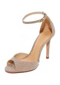 Schutz Sasha Lee Ankle Strap Heels