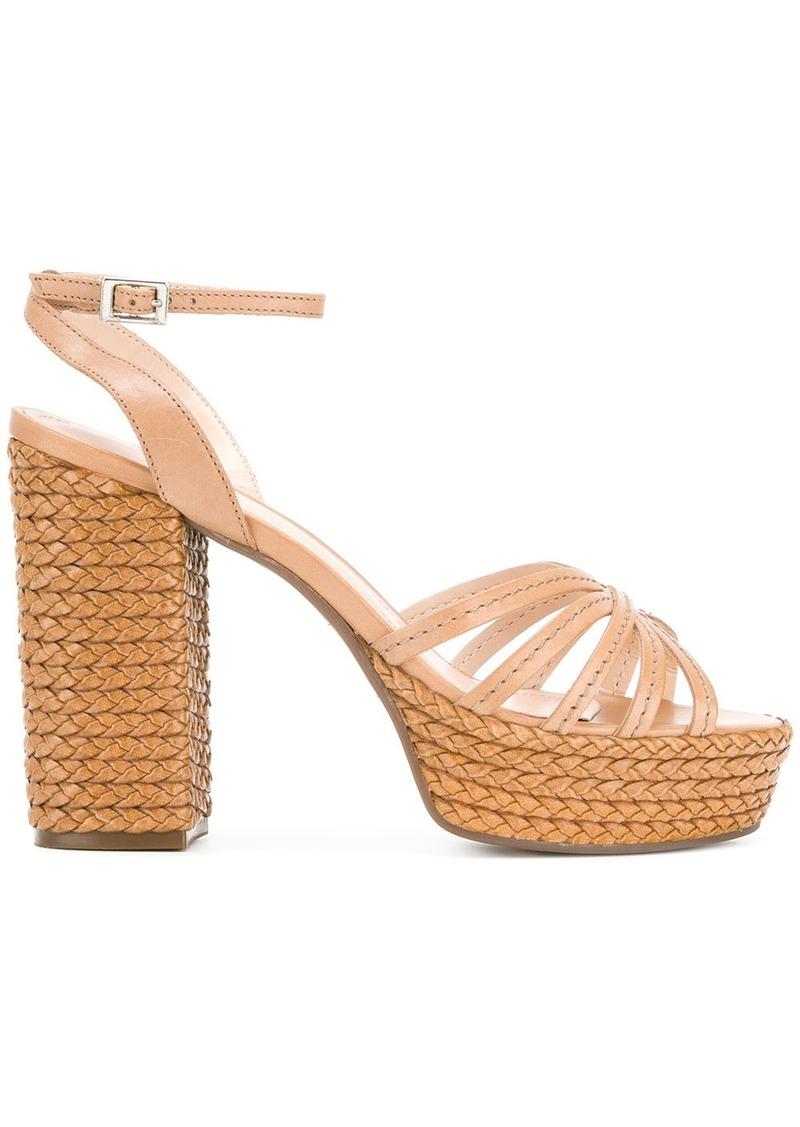 6059331707d slingback platform sandals - Nude & Neutrals