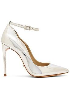 Schutz Thaynara Heel in Metallic Silver. - size 10 (also in 6,6.5,7,7.5,8,8.5,9,9.5)
