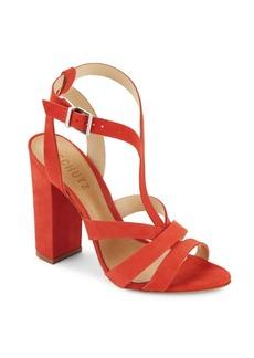 Schutz Veggy Leather Open-Toe Sandals
