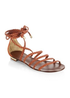 SCHUTZ Victore Leather Sandals