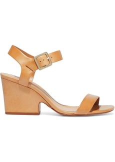 Schutz Woman Atanado Leather Sandals Light Brown