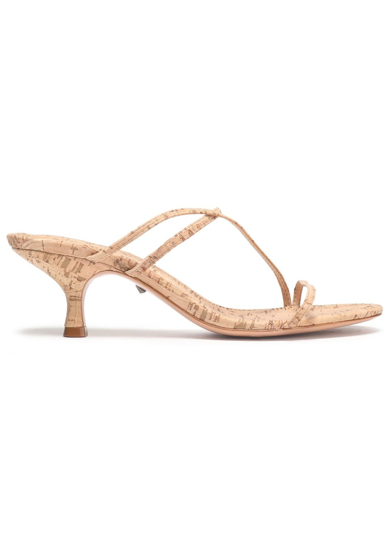 Schutz Woman Cork Sandals Neutral