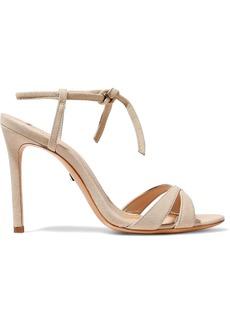 Schutz Woman Magna Suede Sandals Sand