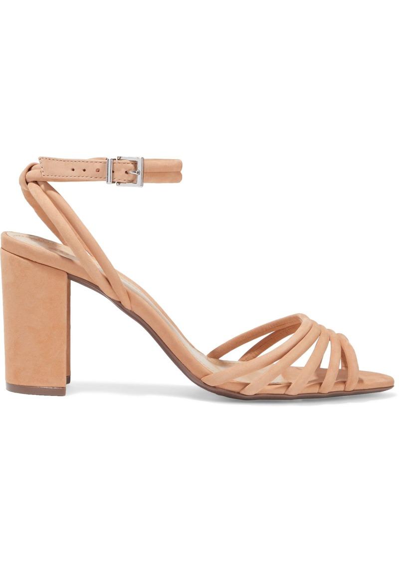 Schutz Woman Nubuck Sandals Blush