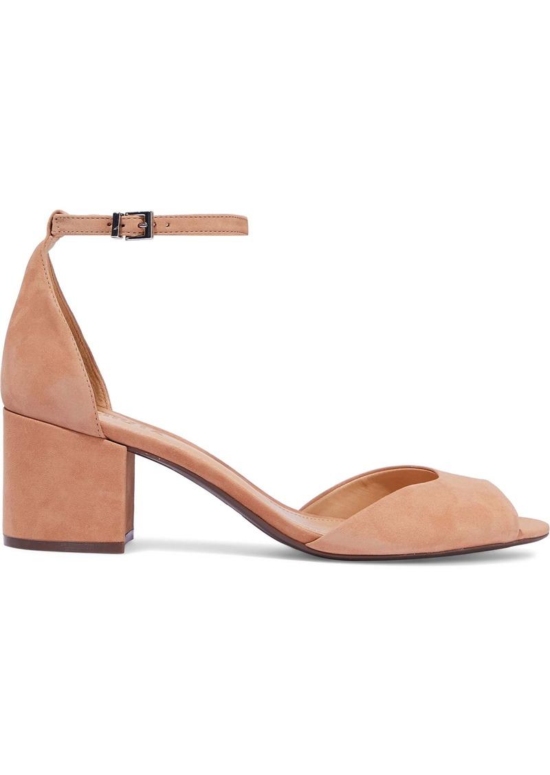 Schutz Woman Roama Suede Sandals Sand