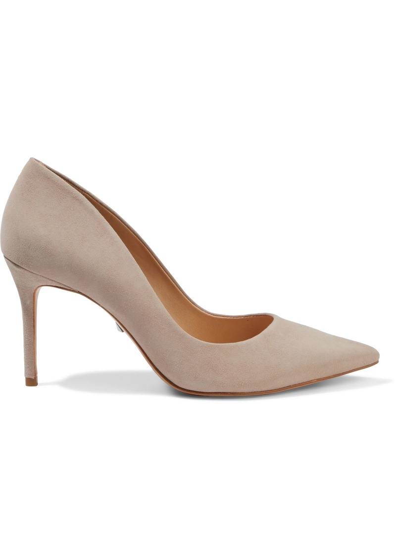 Schutz Woman Rosie Suede Pumps Neutral