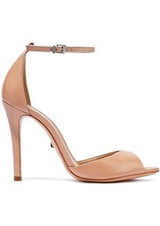 Schutz Woman Saasha-lee Leather Sandals Ecru