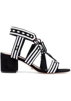 Schutz Woman Sandals-mid Heel Black